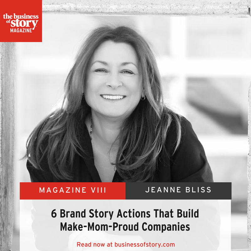 6 Brand Story Actions That Build Make-Mom-Proud Companies