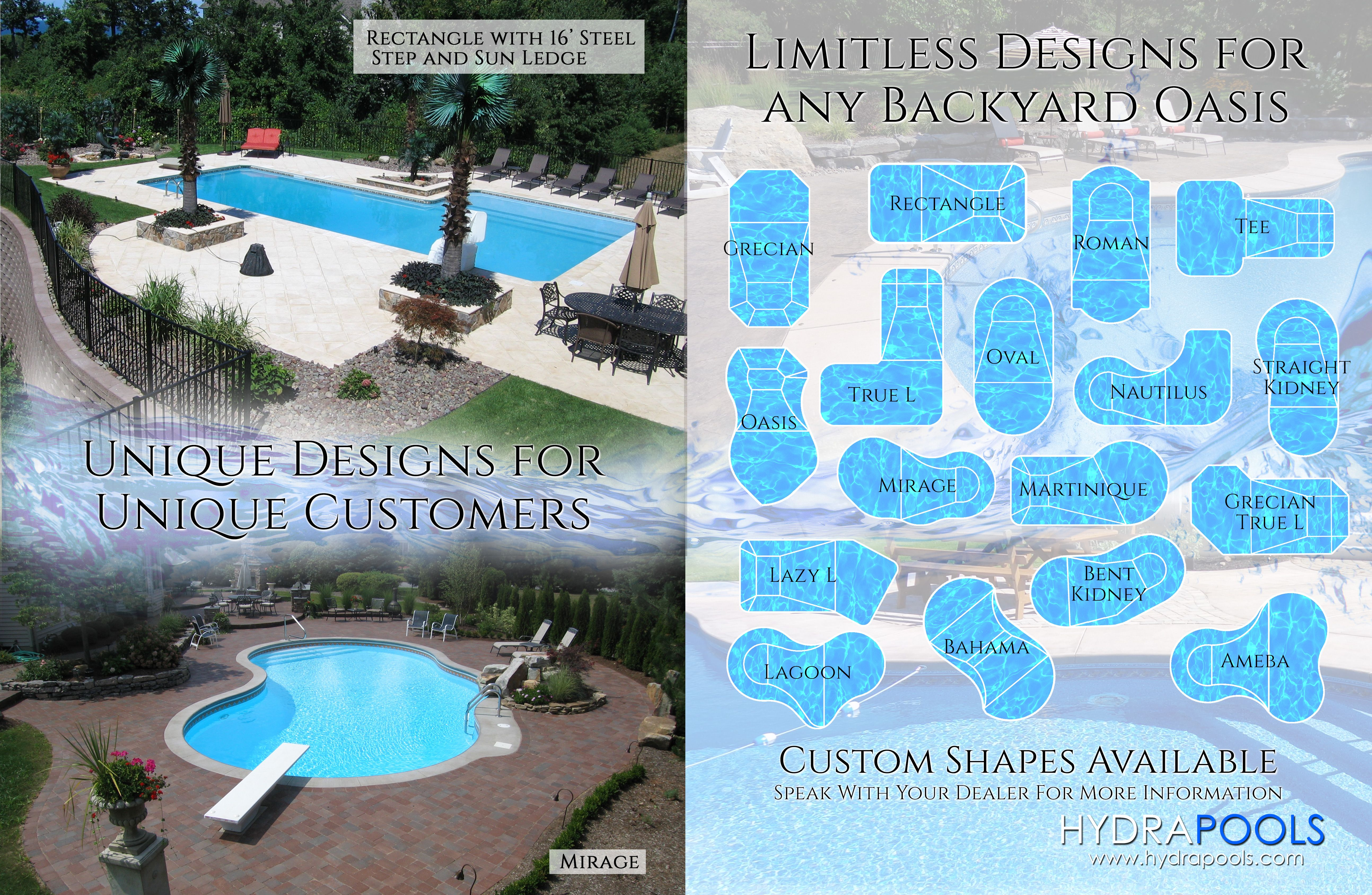 Inground Pool Kits, Swimming Pool Liners, Swimming Pool