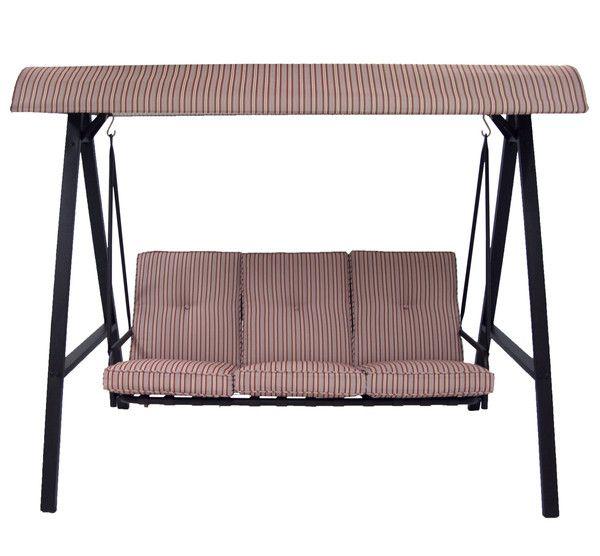 Delightful Mainstays Three Person Swing Replacement Cushions. Replacement  CushionsReplacement CanopyPatio ...