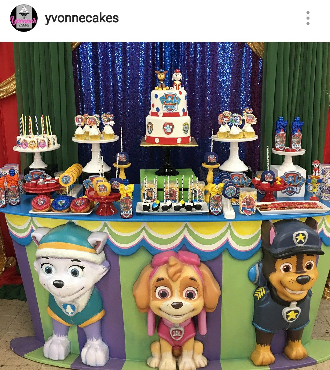 Paw Patrol Birthday Party Dessert Table And Paw Patrol Birthday Paw Patrol Birthday Party Paw Patrol Party
