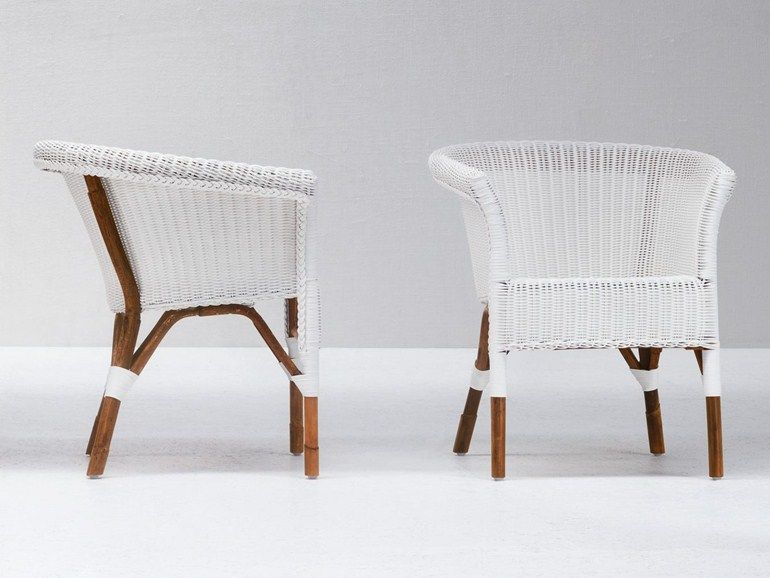 Malacca Easy Chair With Armrests We 25 By Gervasoni Design Paola Navone Easy Chair Chair Malacca