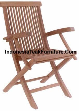 Teak Folding Arm Chair Garden Furniture...need About 6 8 Of These. Are They  Also Made In Distressed Boat Wood? Will They Still Be Foldable Bec Thats  Imp For ...