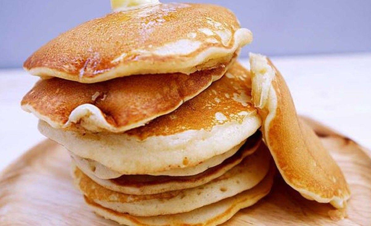 طريقة عمل بان كيك صحي Food Breakfast Pancakes