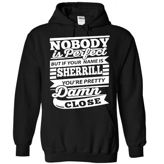 SHERRILL - #gift ideas #bridal gift. PRICE CUT => https://www.sunfrog.com/Camping/1-Black-83598200-Hoodie.html?68278