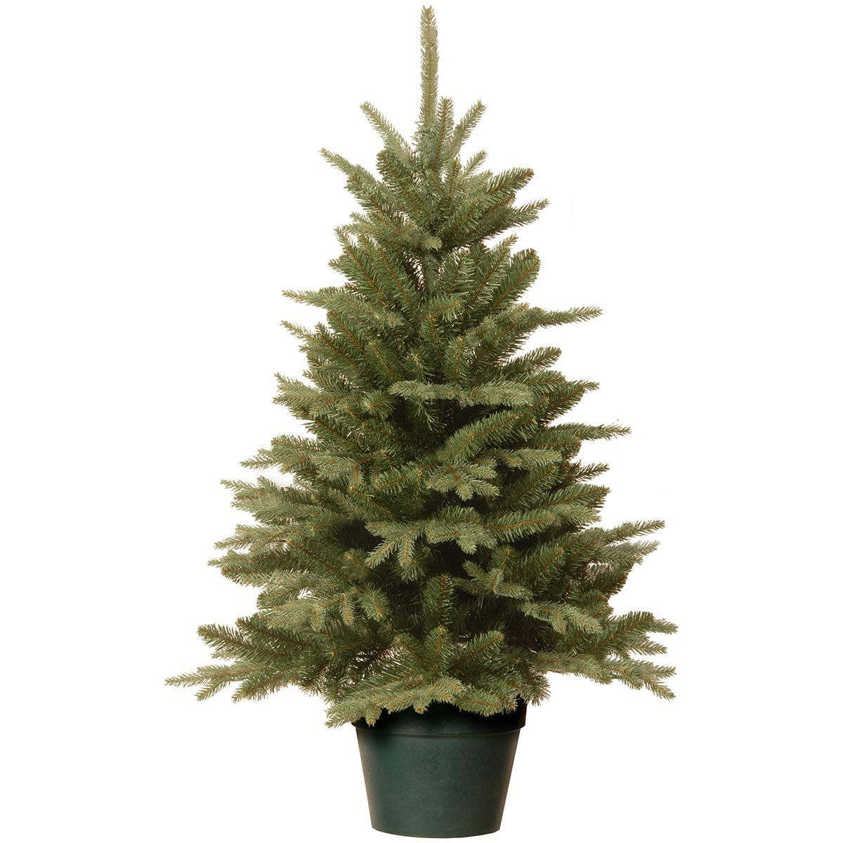 4ft Everyday Collections Potted Feel Real Artificial Christmas Tree