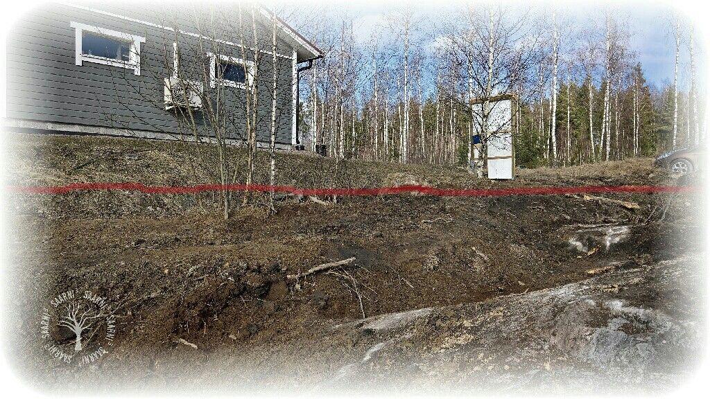 #saarni³ #tontti #maanrakennustyöt #talonpaikka