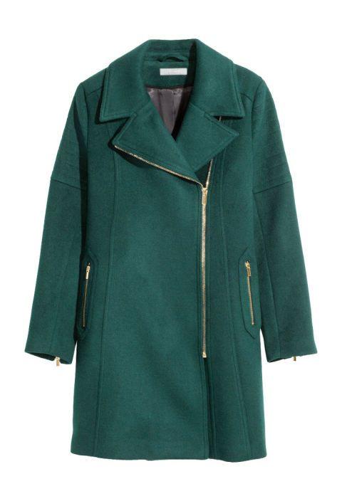 H&M wool-blend coat, $129, hm.com.