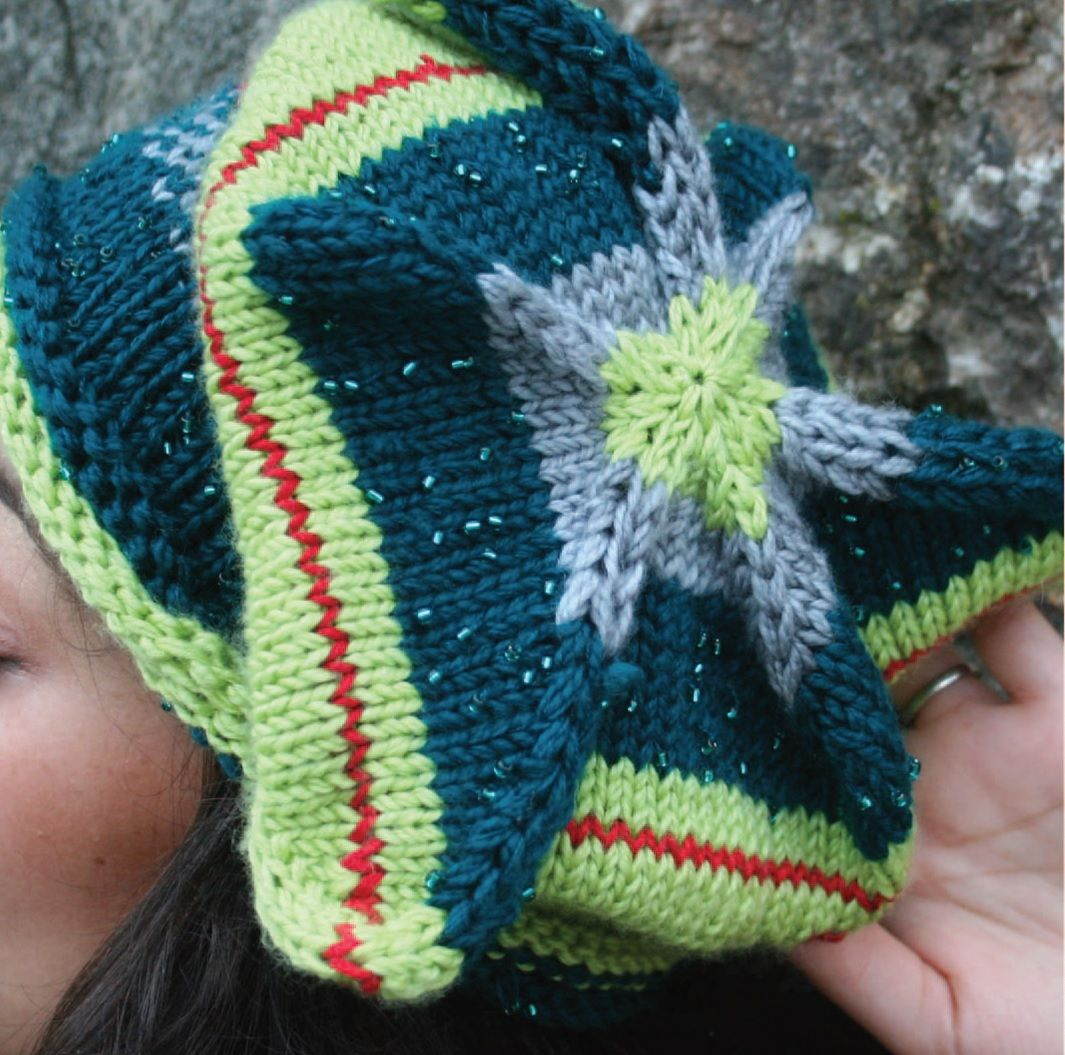 Star beret knitting pattern is an awesome free knitting pattern to star beret knitting pattern is an awesome free knitting pattern to make a unique beret which look like a star in the skye different yarn colors bankloansurffo Images