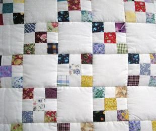 Scrappy Irish Chain Quilt and instructions. Another perfect way to ... : irish chain quilt pattern free - Adamdwight.com
