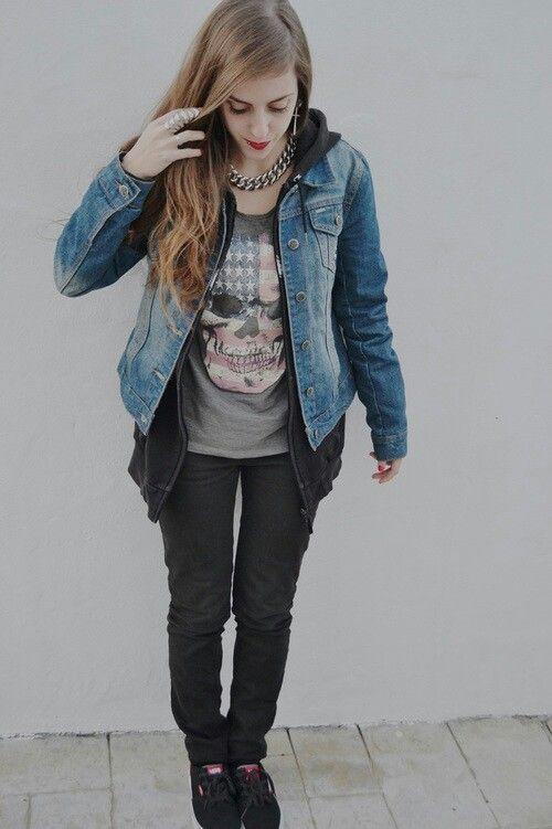 Lieblings Indie rock | fashion | rock | best outfit | cute. | Pinterest #GQ_33