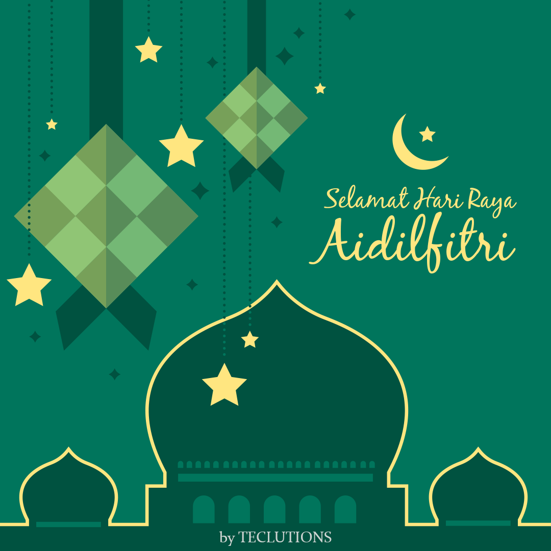 Wishing You And Family A Warm And Blessed Aidilfitri Showered With Love And Happiness With Laughters Instagram Template Design Graphic Design Cv Vector Free