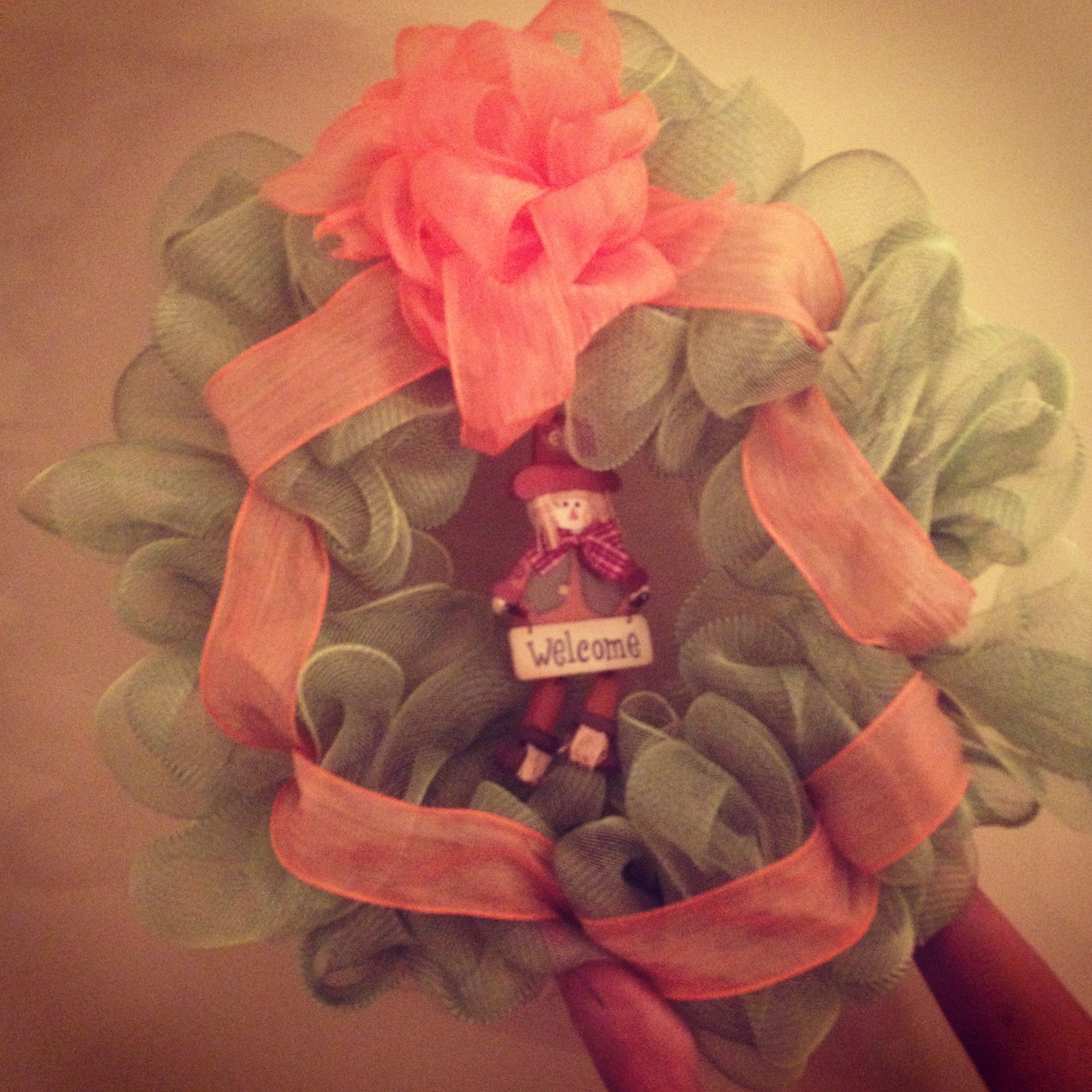 A fall wreath I made. -Tamra #lovemystyleboutique
