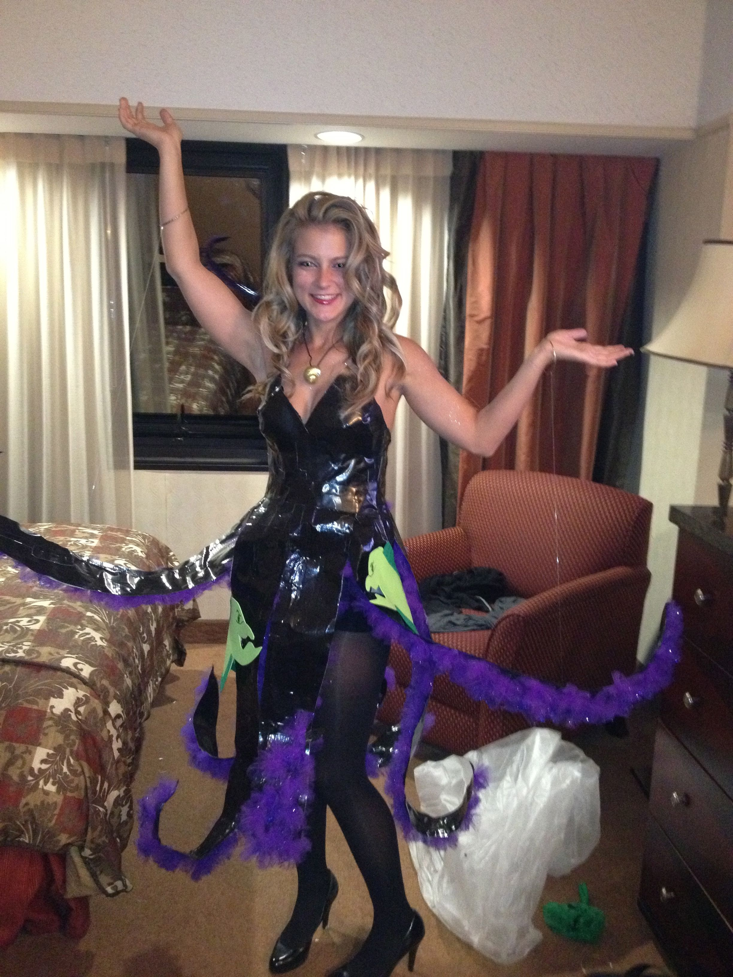 My homemade Halloween costume. Ursula the sea witch. | Villains ...