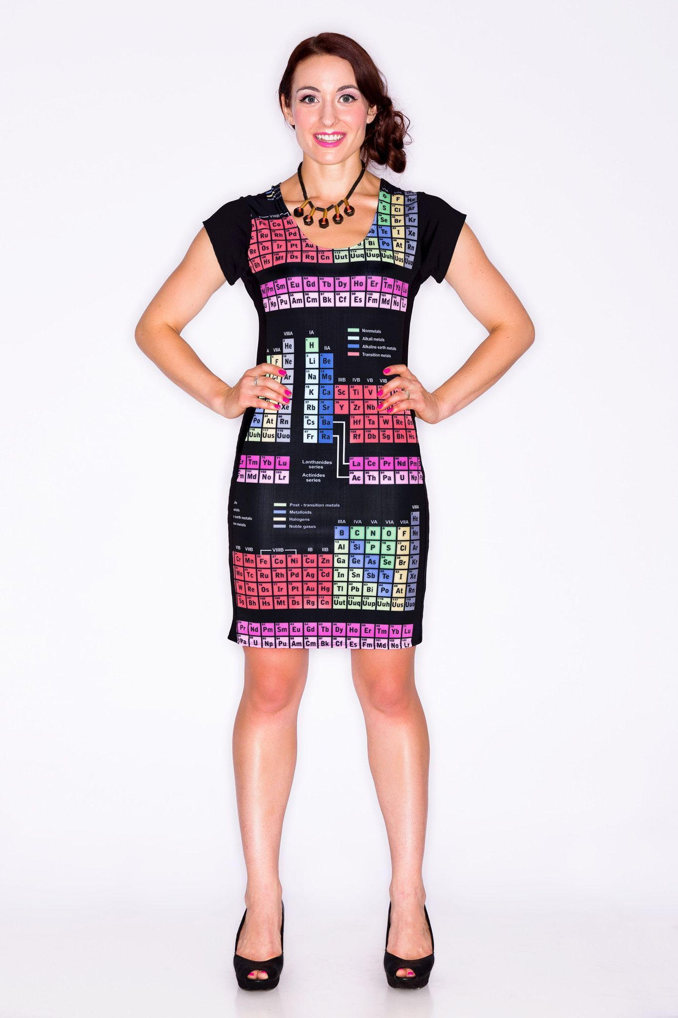 Periodic Table Dress   Printed circuit board, Periodic table and ...