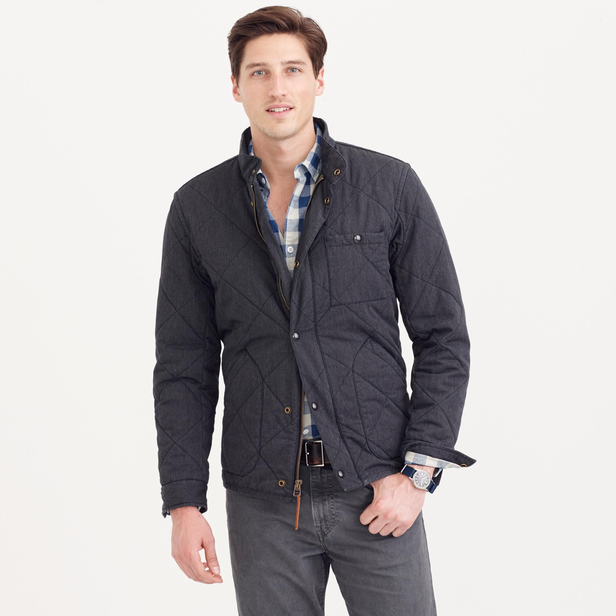 93b29eeb1a33 Sussex quilted jacket   quilted