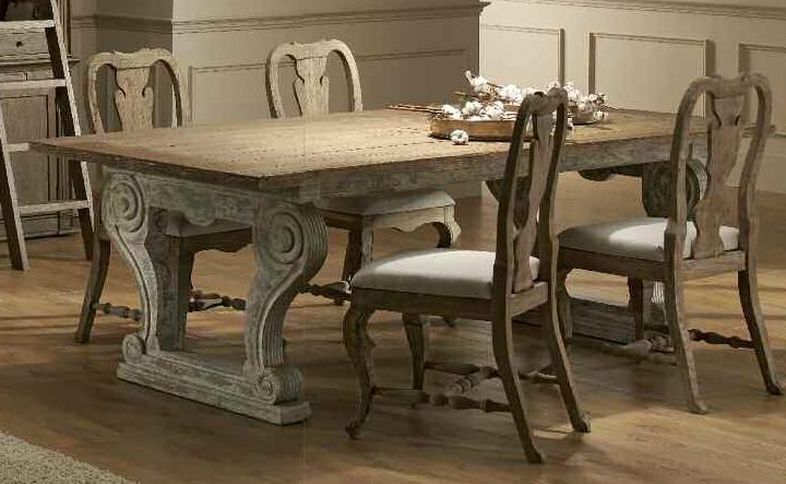 Mesa de comedor de madera reciclada buscar con google - Mesas de comedor restauradas ...