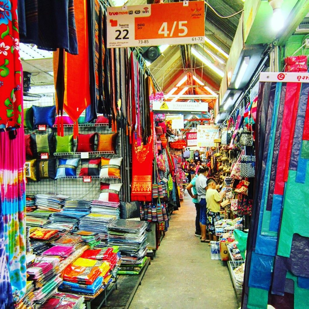 Chatuchak Market Home of the World's Largest Weekend