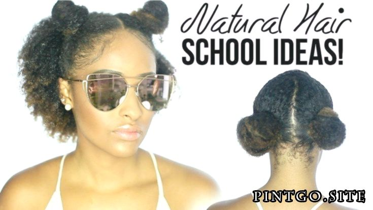 4 QUICK & EASY Natural Curly Hairstyles For SCHOOL! [Video  4 QUICK & EASY Natur…