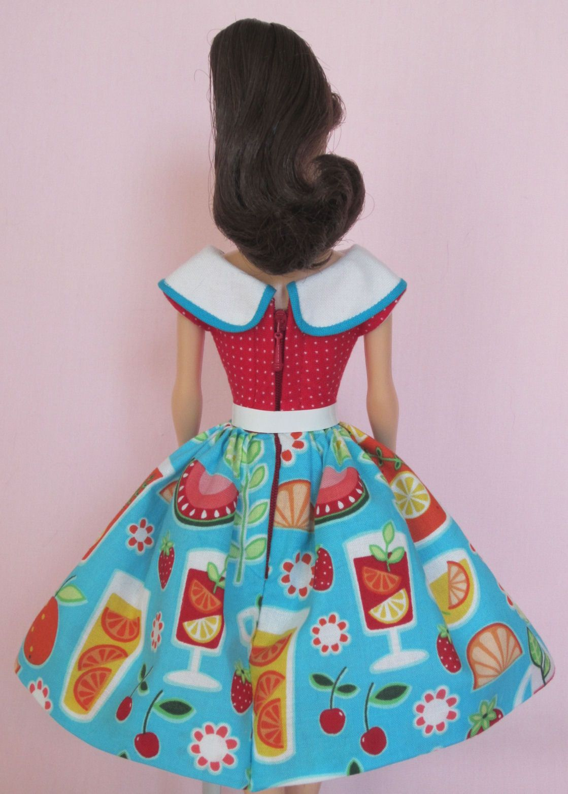 Vintage Barbie Doll Dress Reproduction Repro Barbie Clothes by Eggie ...