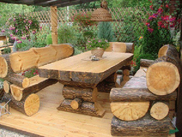 Explore Rustic Outdoor Furniture And More!