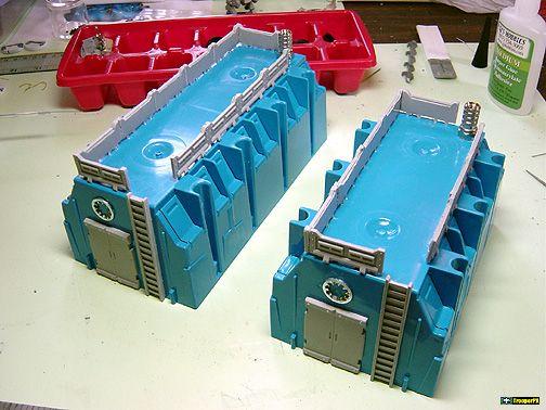 Electrical Junction Box Buildings Warhammer Terrain Wargaming Terrain Miniature Wargaming