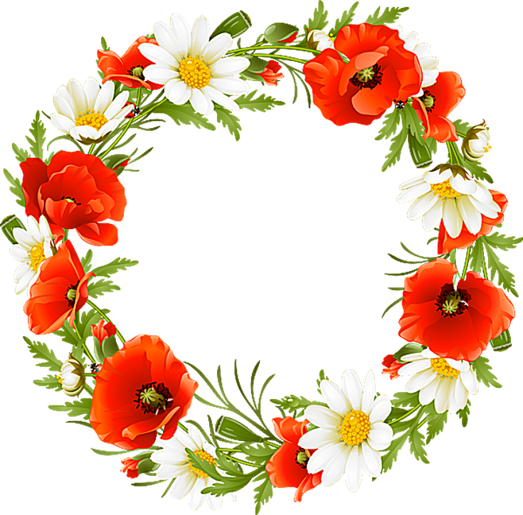 Pontiac S Rebellion An Overview Flower Clipart Flower Art Wreath Illustration