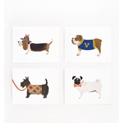 Rifle Paper Co. Assorted Dog Card Set