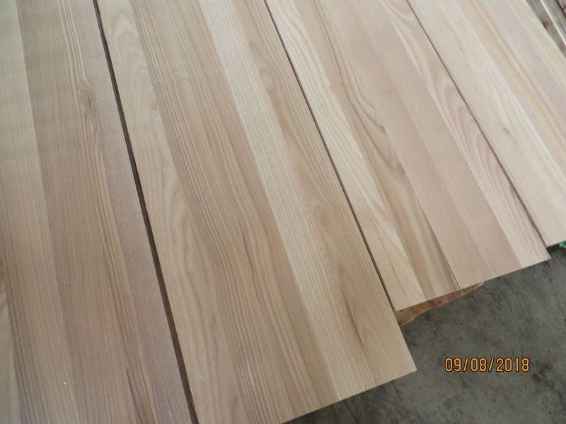 Leimholzplatte Esche Holz Innenausbau Massiv