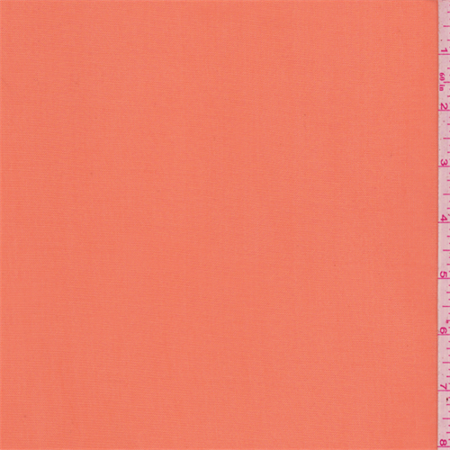 Safety Orange Stretch Mesh, Fabric By the Yard
