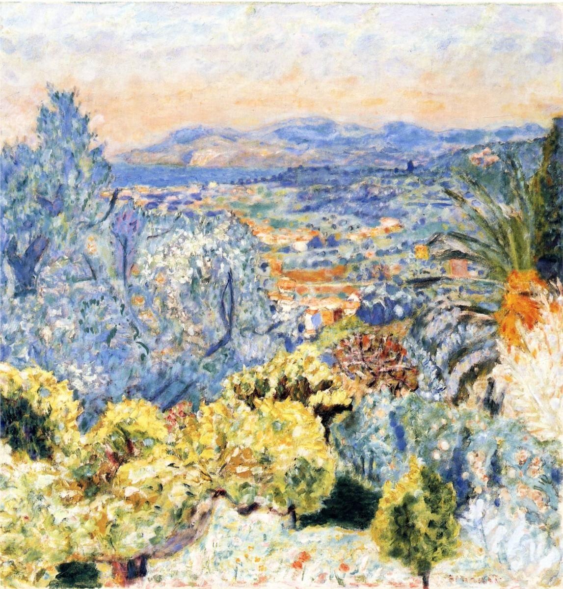 The Cote d'Azur, by Pierre Bonnard (French, 1867–1947)