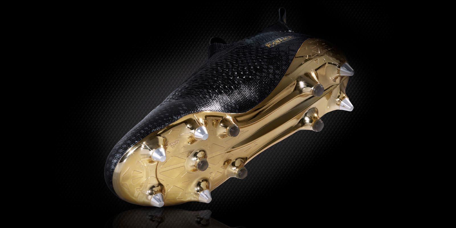 2b16d9cf4bd The Paul Pogba Adidas Ace 17+ MasterControl signature boots introduce a stunning  design in black and gold.