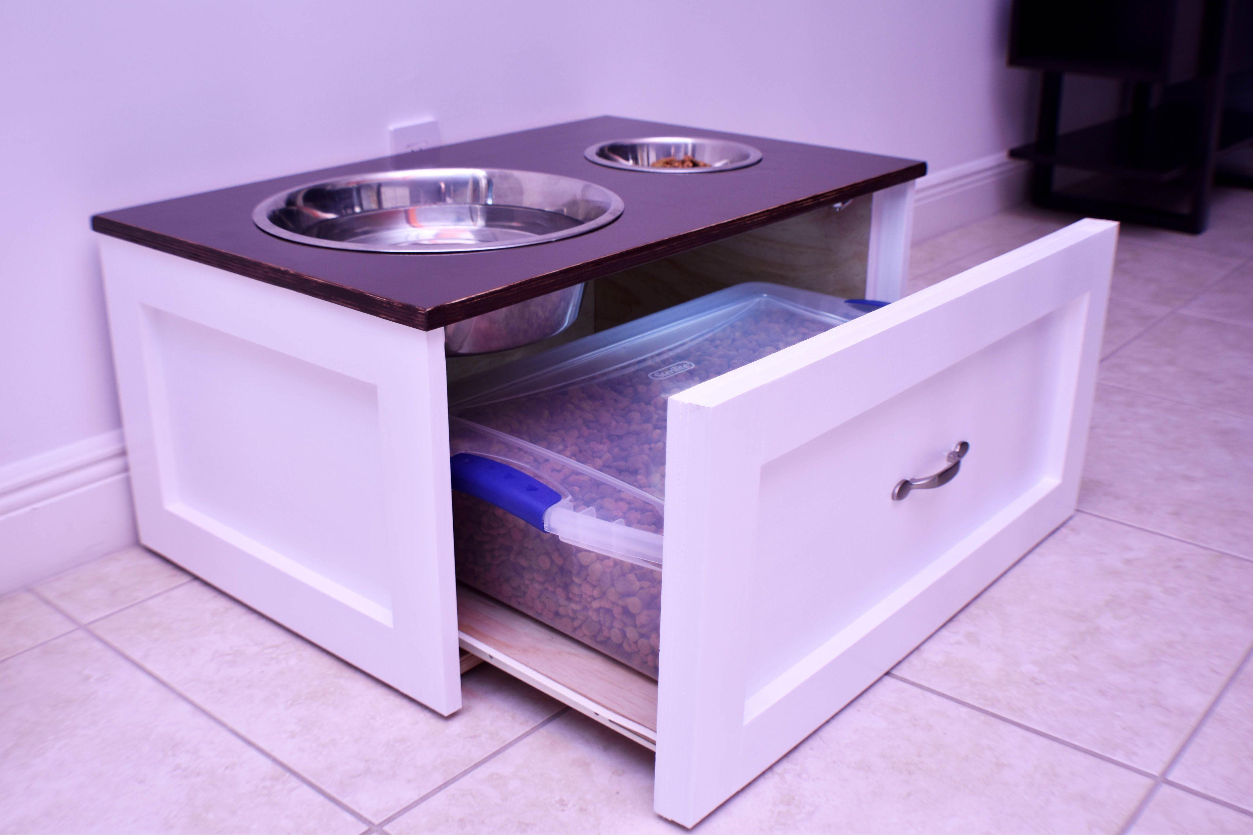 Raised Dog Feeding Station | DIY Build