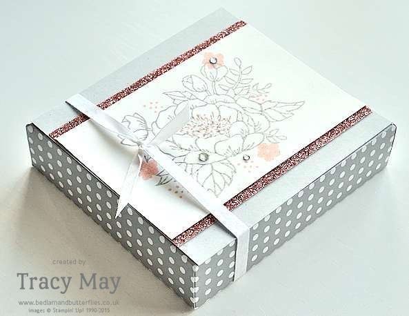 Birthday Blooms Stampin' Up! Envelope Punch Board Gift Box - Bedlam and Butterflies