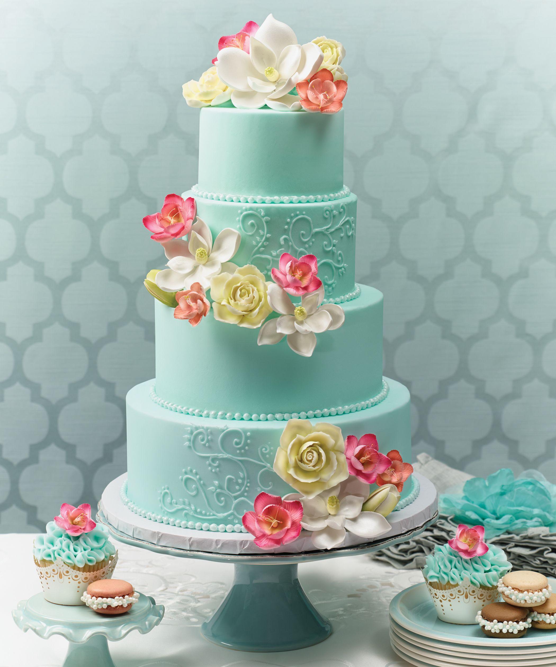 Tiffany Blue Wedding Cakes Wedding Photography