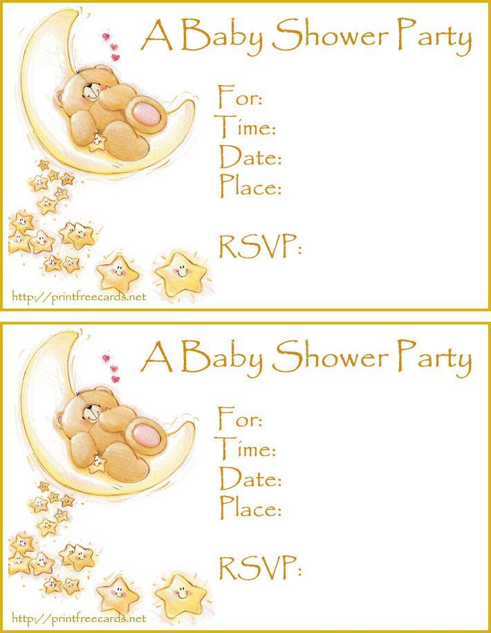 Free Baby Shower Invitation Template Downloads Invitation - free invitation template downloads