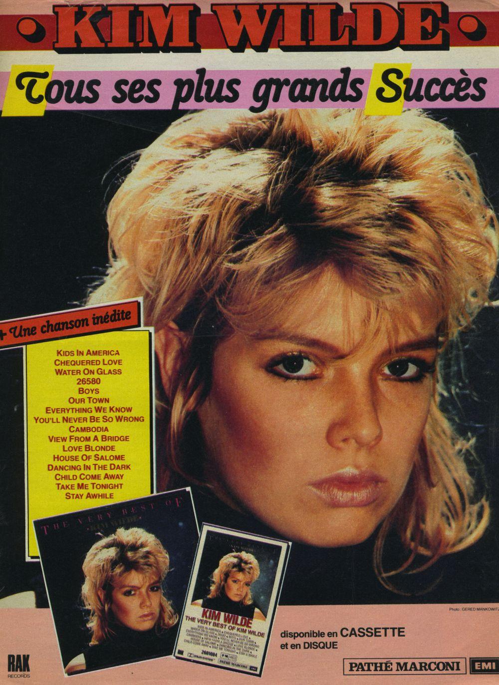 61 Best Kim Wilde adverts images   German, Deutsch, Germany