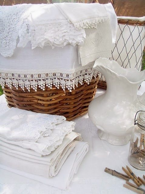 staging photos- white  wicker (would really make the P's stand out
