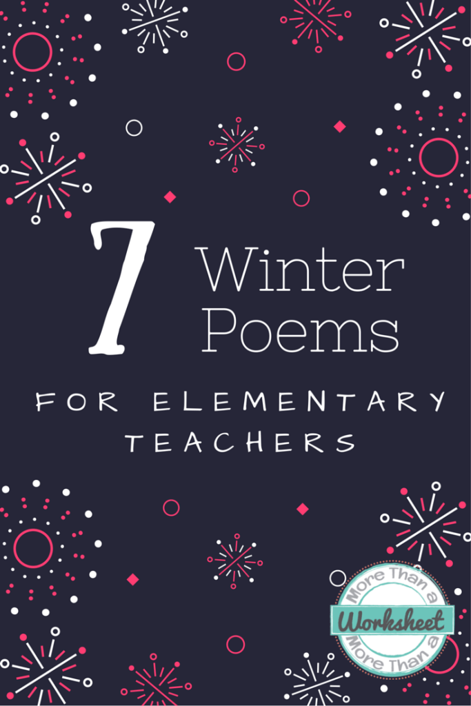 seven winter poems for teachers poetry teacher poems poems for students poems. Black Bedroom Furniture Sets. Home Design Ideas