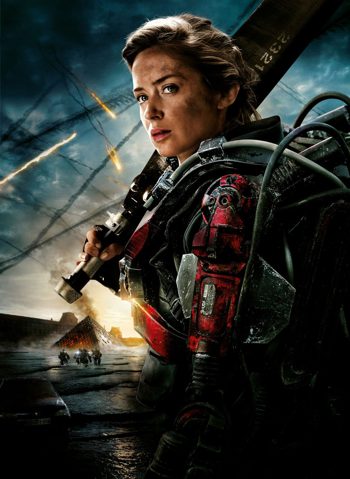 Edge of Tomorrow Poster V017 - Emily Blunt 27 X 40 ...
