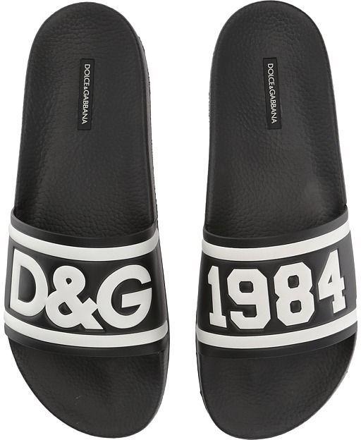 Gabbana Pool Slide Sandal Men's Shoes