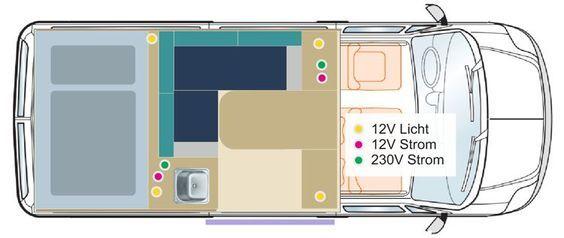 wohnmobilausbau wohnmobil selber ausbauen web pinterest camper camper van und campervan. Black Bedroom Furniture Sets. Home Design Ideas