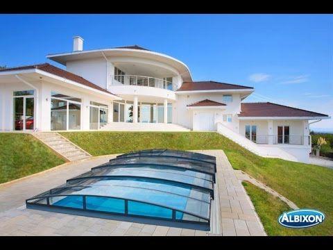 albixon casablanca infinity evo a 350x635cm pool berdachung schwimmbad berdachung pool. Black Bedroom Furniture Sets. Home Design Ideas
