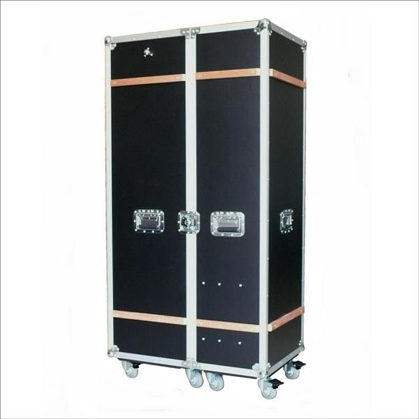 Wardrobe Case Black Grosses Flightcase Schwarz Garderoben Case Mobel Online Shop Vintage Design
