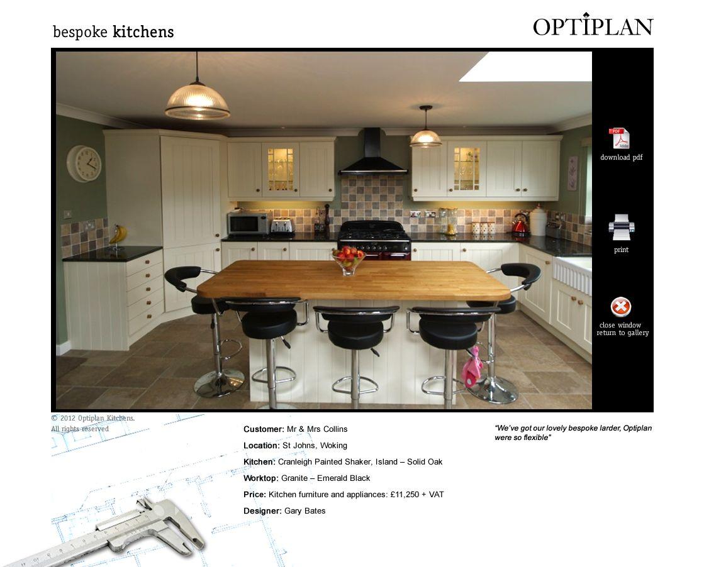 Optiplan Kitchens Bespoke Kitchens Kitchen Paint Shakers