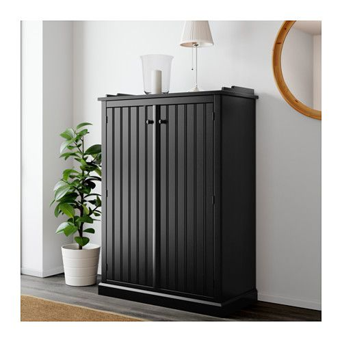 arkelstorp sideboard black 93 x 46 x 133 cm ikea pinterest wohnzimmer einrichtung und. Black Bedroom Furniture Sets. Home Design Ideas