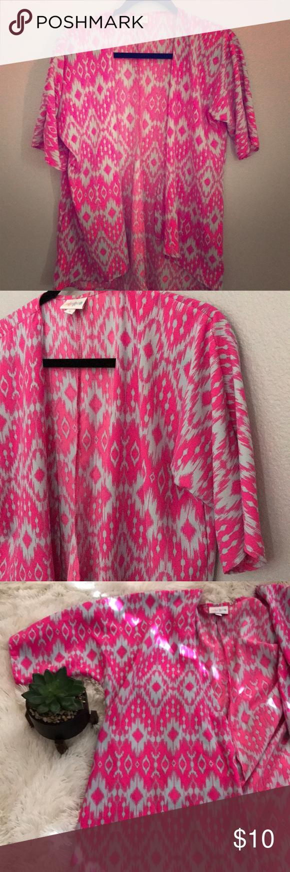 LuLaRoe Bianka Short Kimono Short kimono, Clothes