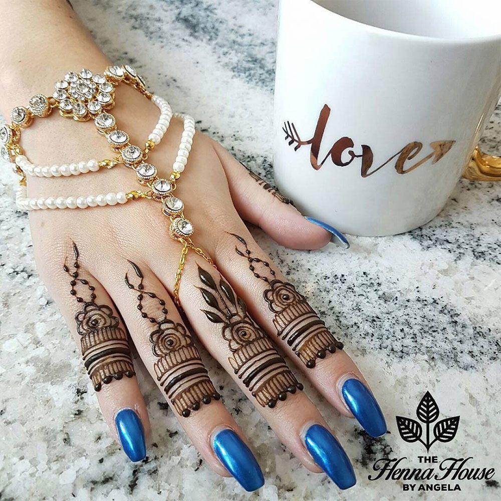 Bridal gold hand chain slave bracelet bohemian wrist bracelet