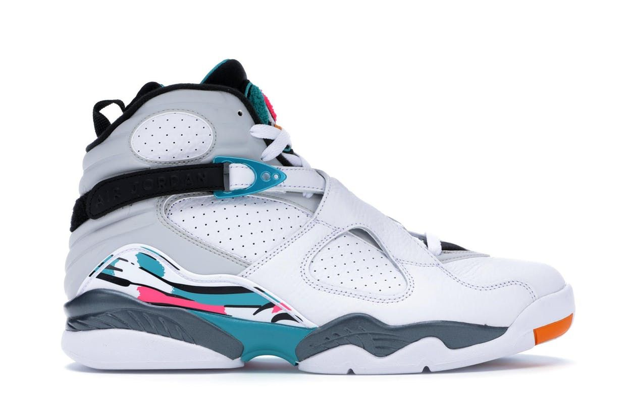 Check Out The Jordan 8 Retro South Beach Available On Stockx