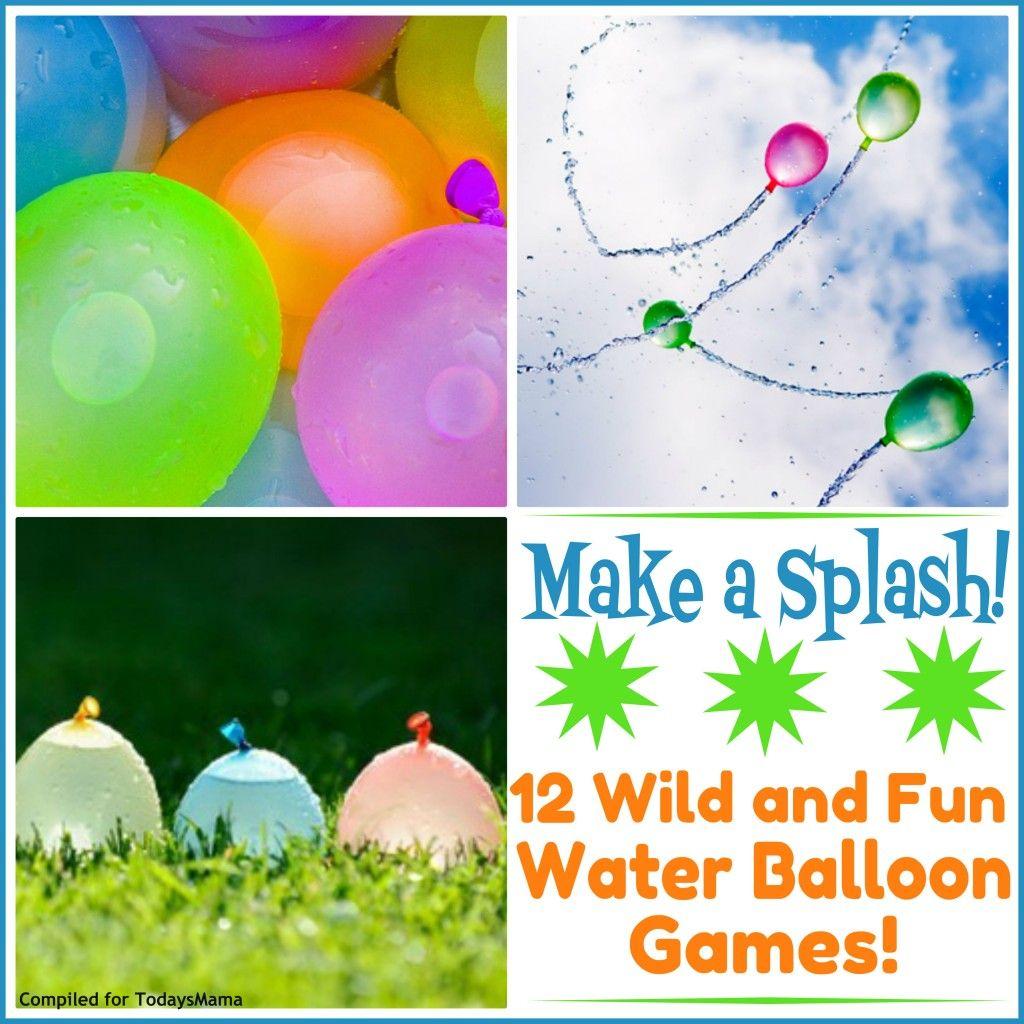 water balloon games u201312 splashy backyard activities water