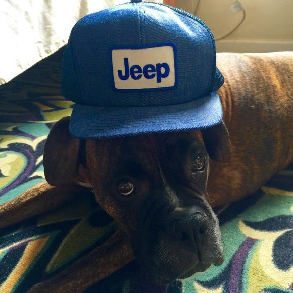 Jeep Accessories - JEEP New old stock USA made trucker hat ball cap b478aadae32a